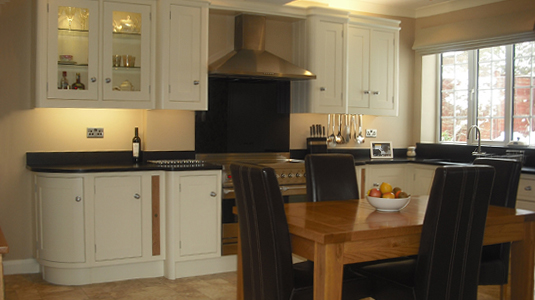 Little England Kitchen Example 1 - 3D Visual
